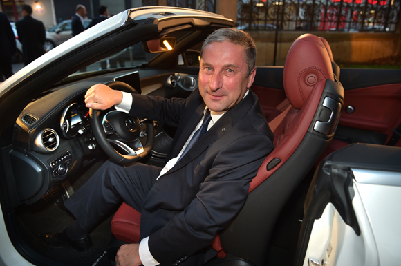 3. Michel Caporale (Mercedes-Benz)