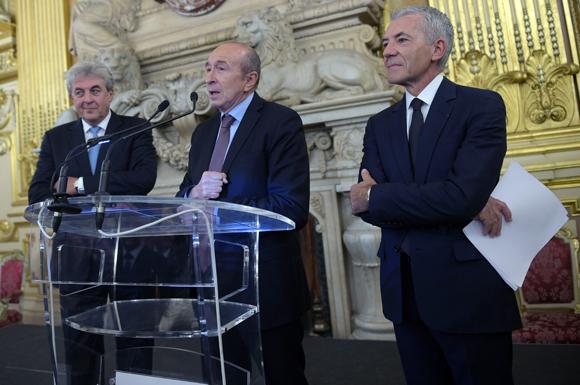 31. Gérard Collomb, sénateur maire de Lyon