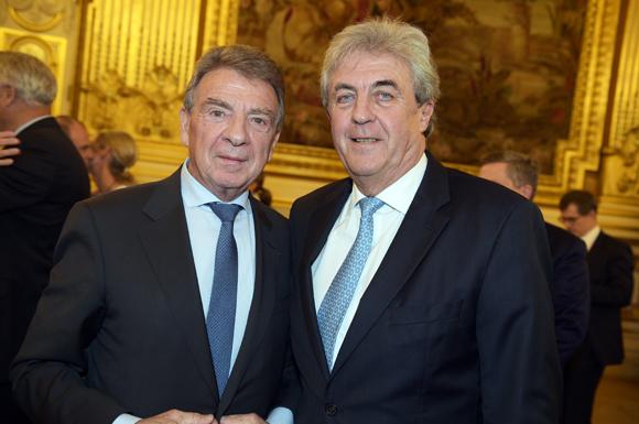 3. Bernard Fontanel, ancien président du Medef Lyon et Maître Richard Brumm, adjoint aux Finances