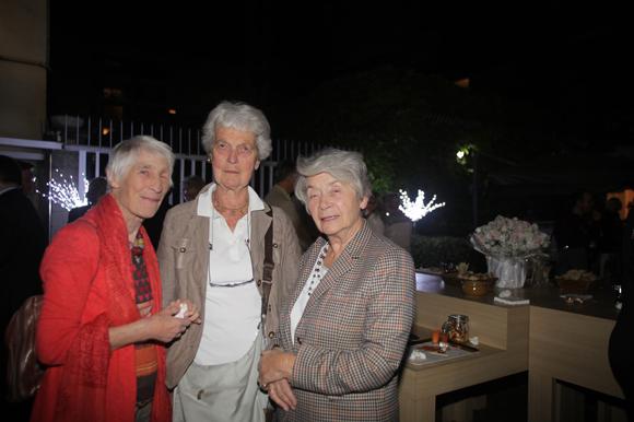 35. Jacqueline François, professeur au CNR, Edwige de Buttet et Claude de Saint Quentin