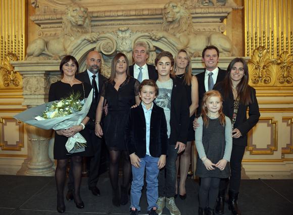 36. Richard Brumm et son épouse Dominique en famille