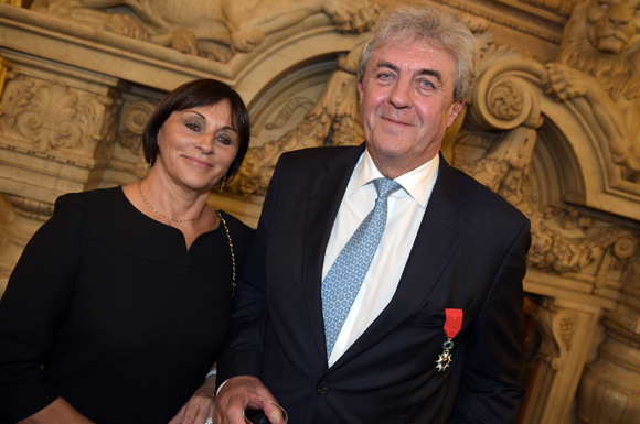 38. Maître Richard Brumm et son épouse Dominique