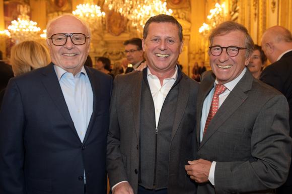 4. Alain Cellerier, Eric Giraud (Chez Antonin) et Jean-Paul Lacombe (Léon de Lyon)