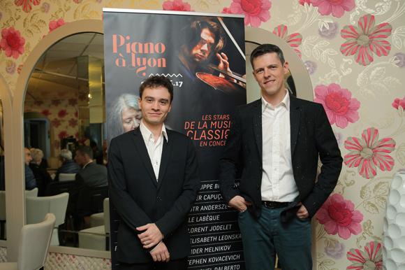 4. Le pianiste Jonathan Fournel et Jérôme Chabannes (Piano à Lyon)
