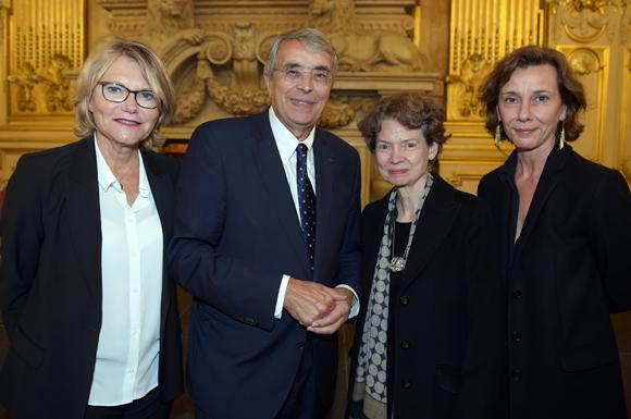 44. Elisabeth et Jean-Jack Queyranne, Sylvie Ramond et Agnès Cipriani (Musée des Beaux-Arts)