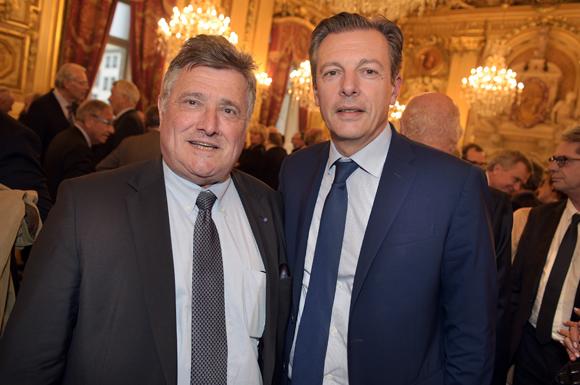 5. Max Vincent, maire de Limonest et Pascal Blache, maire du 6ème