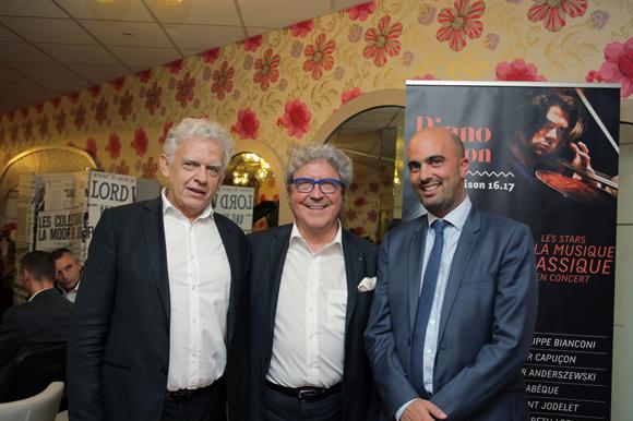 5. Jean-Paul Viossat (Rives et Développement), Roland Bernard (Axotel), et Thomas San Marco (CNR)