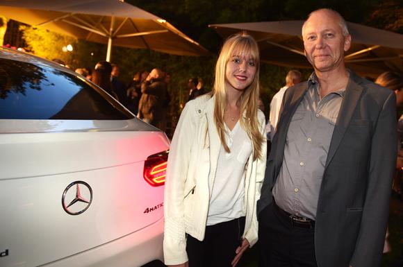 7. Bruno Morel (Graham) et sa fille Mélody