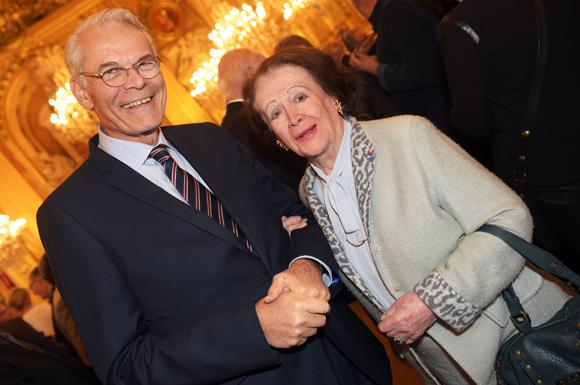 9. Michel Noir, ancien maire de Lyon et Simone André