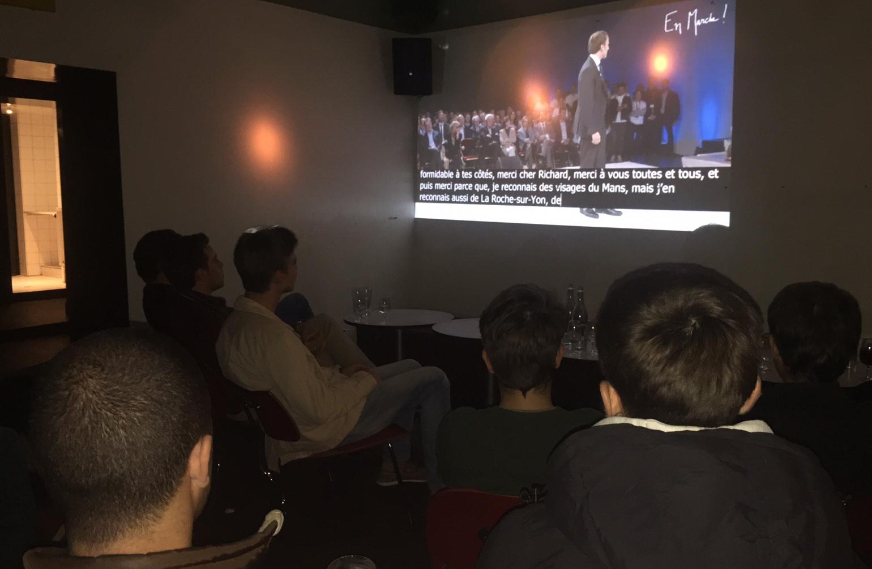Au Voxx, les jeunes ont déjà choisi Macron