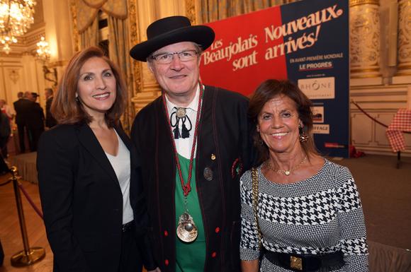 10. Nora Berra, Alain Rosier, meilleur sommelier du monde 86 et Béryl Maillard, consul de St Domingue