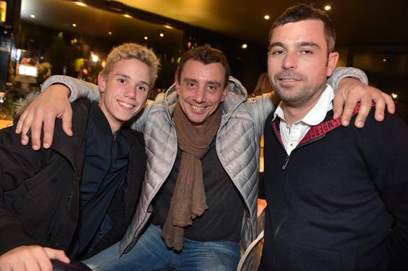10. Christophe Croutte, son fils Simon (The Rolling Cantine) et Xavier Dutel (Kaufman & Broad)