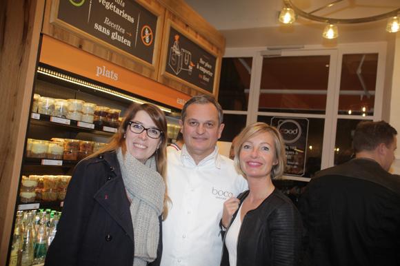 11. Véronique Lopes (Tribune de Lyon), Yves Hunckler, fondateur de la franchise Boco et Anne-Sophie Negroni (Negroni & Associés)