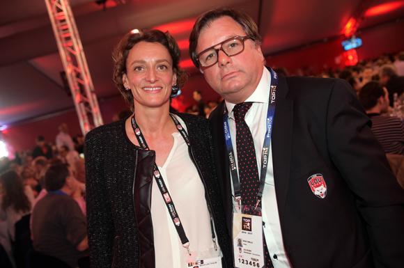 12. Barbara Desmarest (VOGO) et Franck Isaac-Sibille (LOU Rugby)