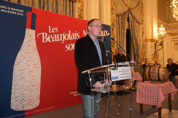 14. David Ratignier, vice-président d'inter Beaujolais