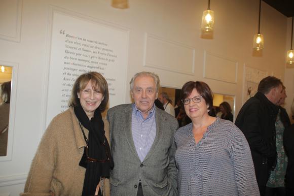 15. Marie-Claude Pitance, Michel Maillon et Agnès Caso (CréonsduSens)
