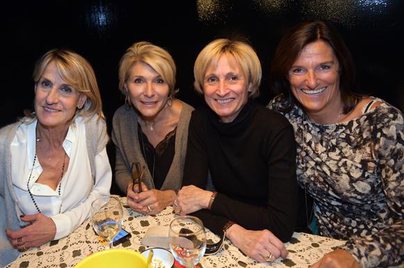 17. Brigitte Moretton (TCL), Laure Pouzergue (Suez), Sophie Ogier (So-Editions) et Virginie du Gardin (TCL)