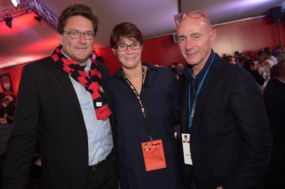 18. Jean-Michel Rey (First), Nathalie Devillers et Olivier Teste (GL Events)