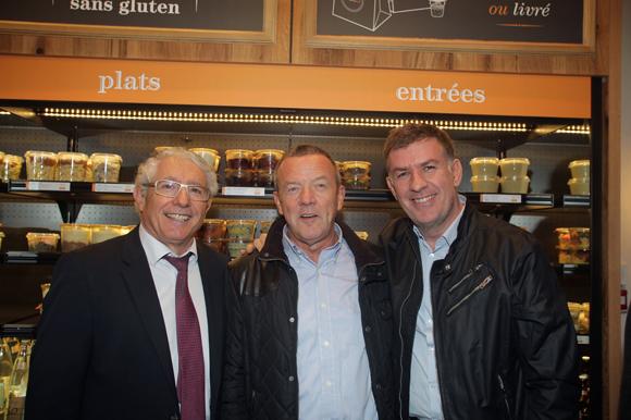 18. Élie Cunat (BMW Gauduel), François Pipala, directeur de salle de Paul Bocuse et Nicolas Winckler (Lyon People)