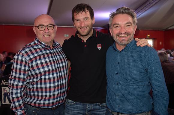 19. Philippe Pasquet (GL Events), Franck Romanet (LOU Rugby) et Emmanuel Bonnet (SPI)
