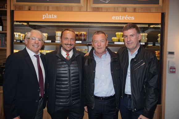 19. Élie Cunat (BMW Gauduel), Vincent Ferniot, François Pipala (Paul Bocuse) et Nicolas Winckler (Lyon People)