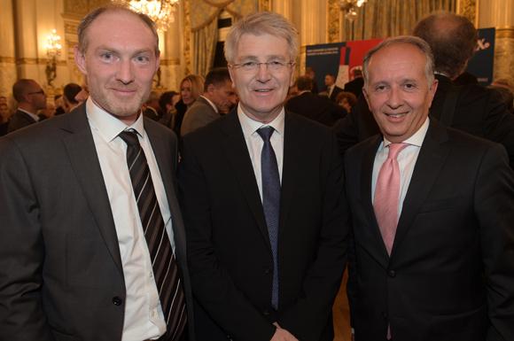 20. Romain Boucaud-Maitre (Chocolat Voisin), Pascal Chopin (JC Decaux) et Eric Vernusse (Banque Rhône-Alpes)