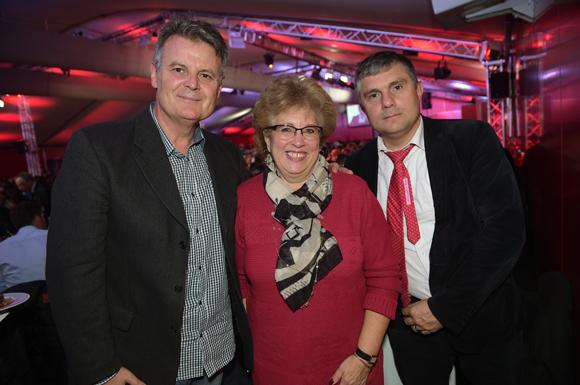 21. Yves Mabilon (Ville de Lyon), Evelyne Haguenauer et Robert Rech (Ville de Lyon)