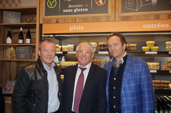 21. François Pipala (Paul Bocuse), Élie Cunat (BMW Gauduel) et Daniel Garnier (Cabinet Hermès)