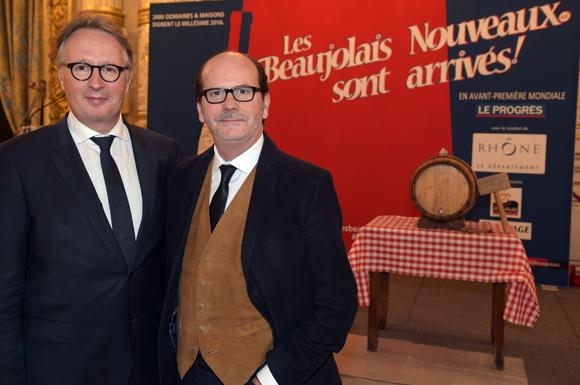 2. Pierre Miquet (Eiffage) et Gérard Auboeuf (ONLYLYON)