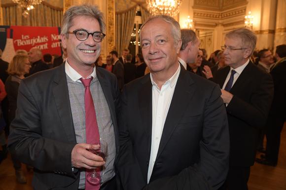 24. Pierre Budimir, attaché de presse Ville de Lyon et Philippe Grillot