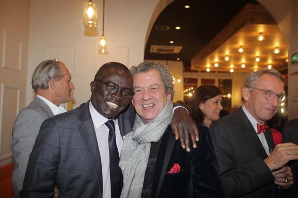 25. Laye Diop (Marriott Hôtel) et le soyeux André-Claude Canova