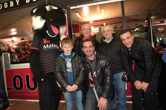 27. Ethan, son père Jérôme Martin, Jean-Claude Fettig, Jean Martin et Alexandre Fettig