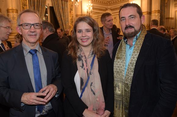 27. Gilles Cheval, directeur territorial SNCF, Virginie Decia-Mathiolon et Jacques Marcout (Prisme Consulting)