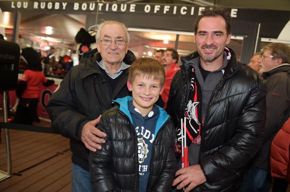 28. Jean Martin, son fils Jérôme et son petit-fils Ethan