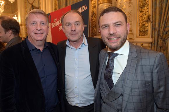 28. Michel Lopez (Korloff), Yves Rioton (Séminaires Business) et Franck Sciessere, directeur de la Cour des Loges