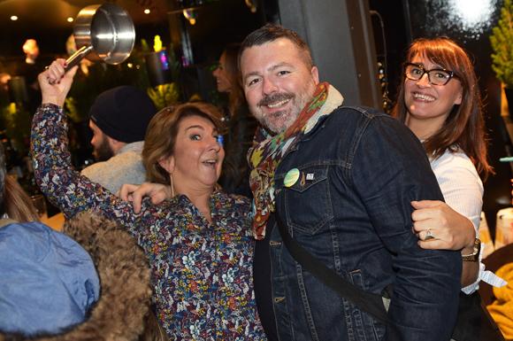 29. Caroline Astus (Astus Séminaire), Jean-Philippe Duran (Rugby Meyzieu) et Valérie Burel (Insolites Architectures)
