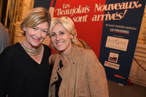 29. Sylvie Caudrillier, directrice régionale Air France et Dany Morsilly (LSP)