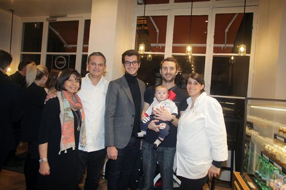 30. Guylaine Henry, Yves Hunckler, son fils Victor, Benjamin Camus (Smile), Nathan et Caroline Henry (Boco)