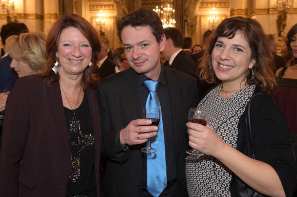 31. Chantal Proust, Julien Berthet (Hit Story) et Emmanuelle Sysoyev (ONLYLYON)