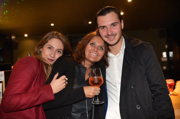3. Eva Galai (Sup de Mod), Sophie Betoule (O'Capot) et son fils Victor (Valority)