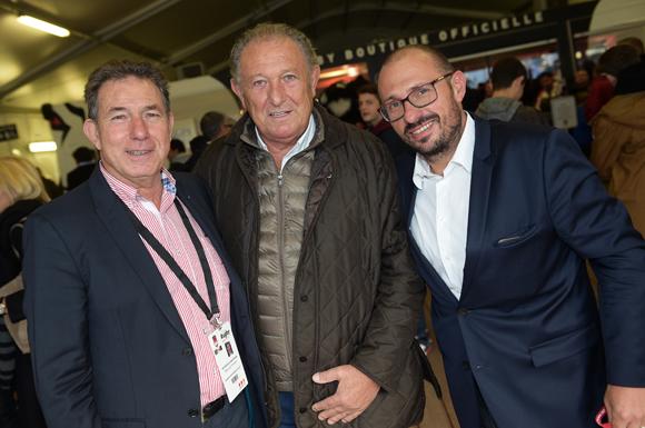 34. Jean-Claude Pietrocola (Média Sport Promotion), Michel Charmy et Stéphane Chassignol (Ministère des Sports)