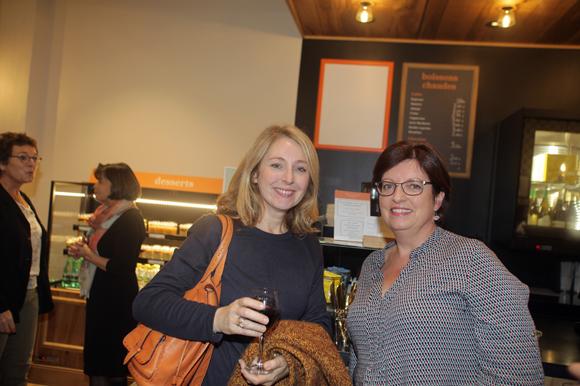 35. Valérie Bianzani (GL Events) et Agnès Caso (CréonsduSens)