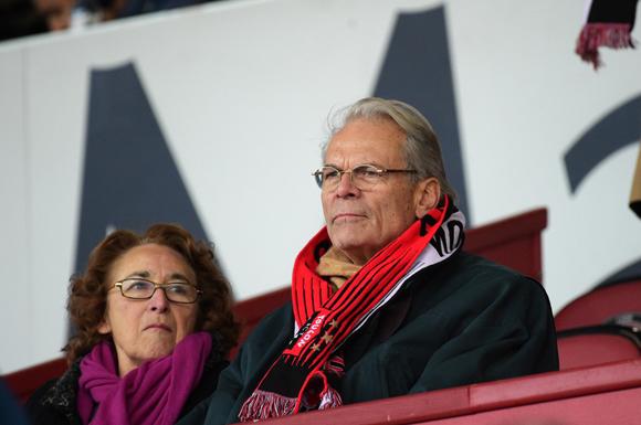 38. Michel Noir, ancien maire de Lyon et son épouse Danielle