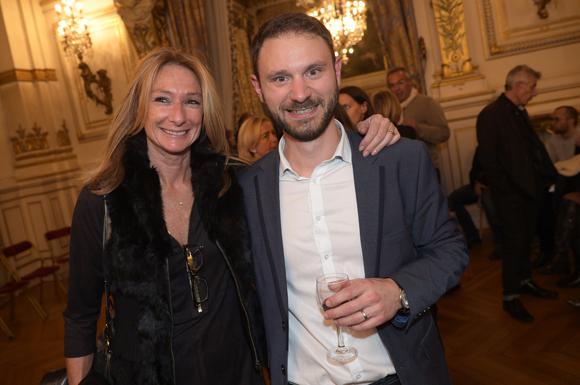 39. Nathalie Degardin (Le Progrès) et Olivier Radix (Boucherie André)