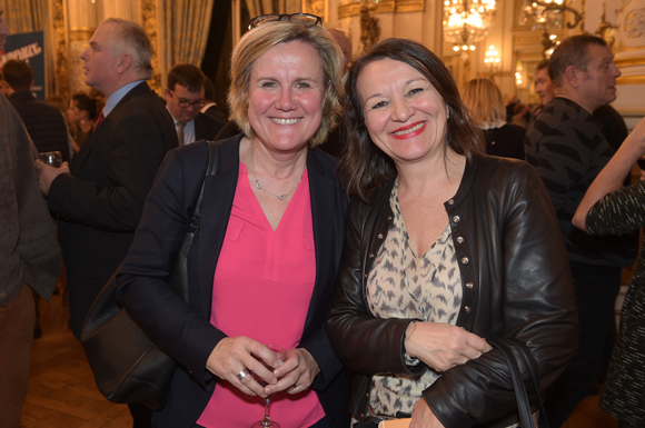 40. Pascale Savey (EDF) et Nadine Castellani (Orange)
