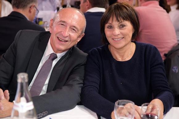 4. Gérard Collomb, sénateur-maire de Lyon et Dominique Brumm