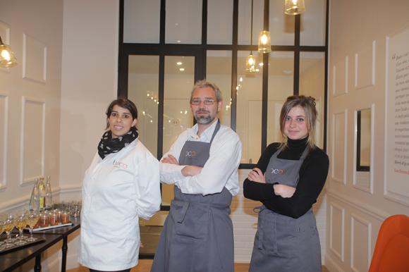 4. Caroline Henry, Arnaud Joffroy et Valentine Quinnez (Boco)