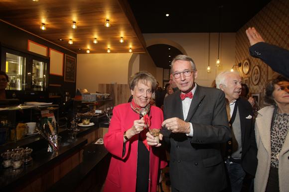 41. Carole Dufour (Idées en Tête), son époux Bruno Dufour, consul d'Equateur