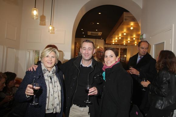42. Michel Huard, Vincent Grégoire (Marie-Brizard) et Anne-Sophie Chabanel. En arrière-plan, Benoit Licour