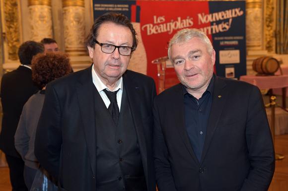 4. Philippe Vorburger (Hub de l'Ile Barbe) et Jean-Louis Joly, DG du Medef Lyon-Rhône